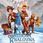 VFK - Sněhová královna - Tajemství ohně a ledu - plakát - oříznutý - s popiskem